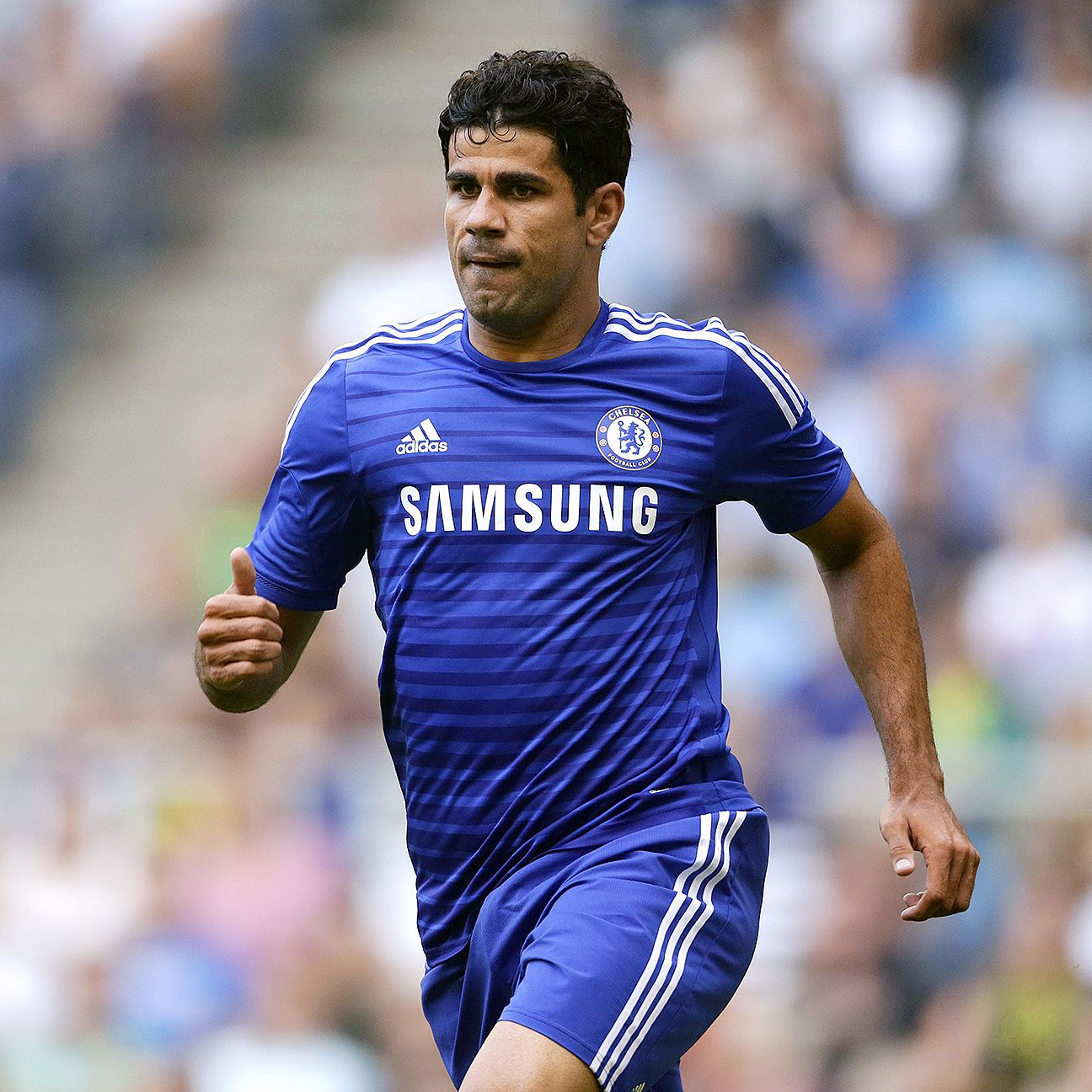 Diego Costa's work rate in his first weeks with Chelsea has drawn positive reviews.