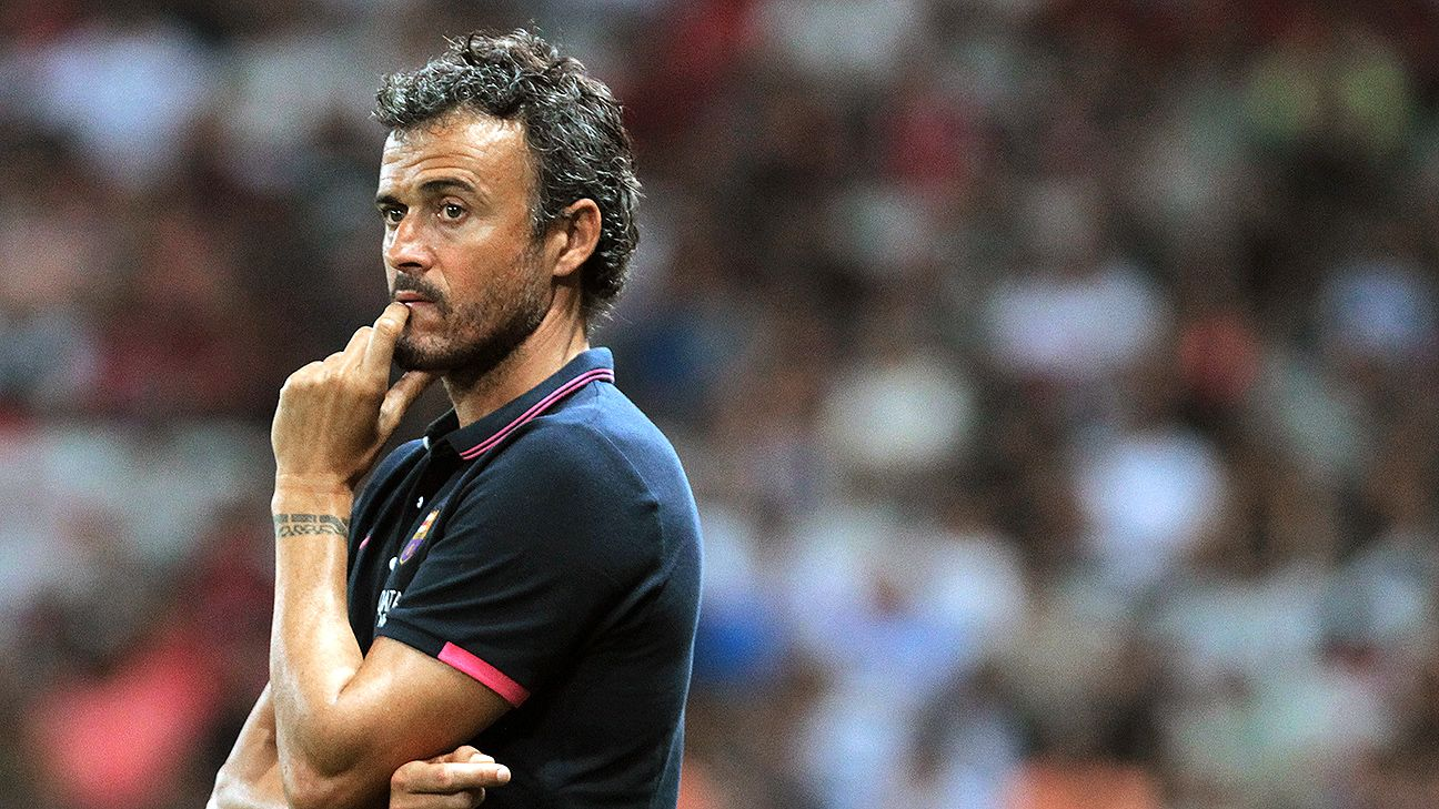 Luis Enrique faces a myriad choices as to who should complete Barcelona's starting XI.