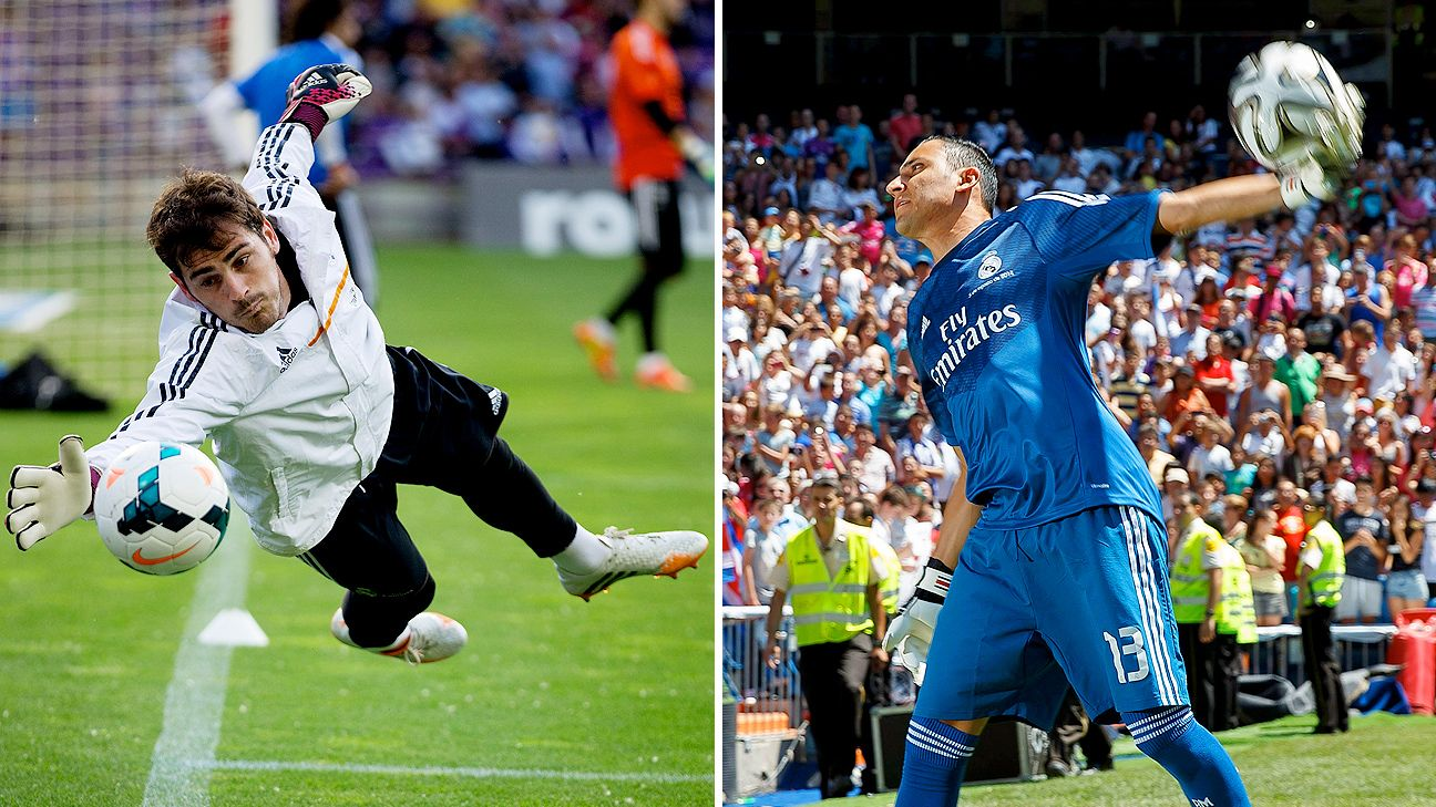 The Bernabeu will once again be embroiled in goalkeeping controversy in 2014-15, this time involving Iker Casillas and new Real arrival Keylor Navas.