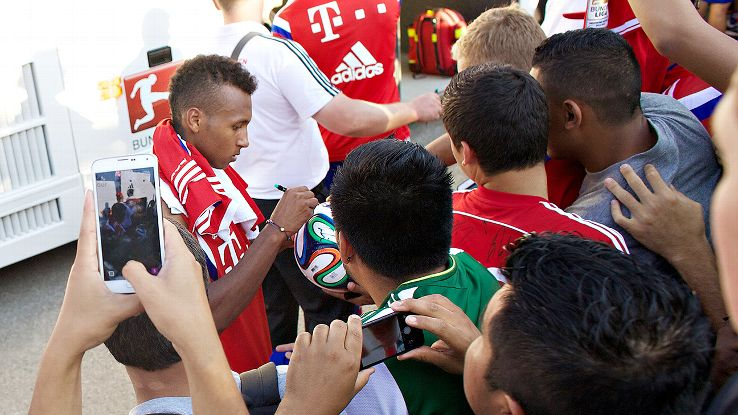 Julian Green and Bayern came here as evangelists for their leagues, not footballing missionaries.