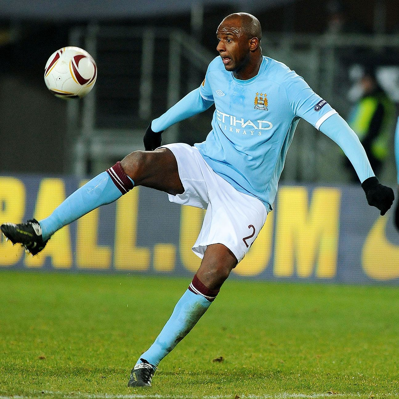 Patrick Vieira's poise and leadership helped guide Manchester City to the 2011 FA Cup title.