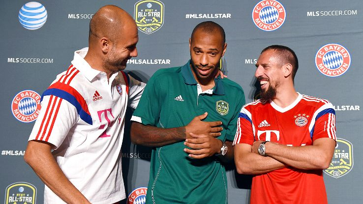 Thierry Henry has always stolen the show no matter where he is. MLS will miss that when it's gone.