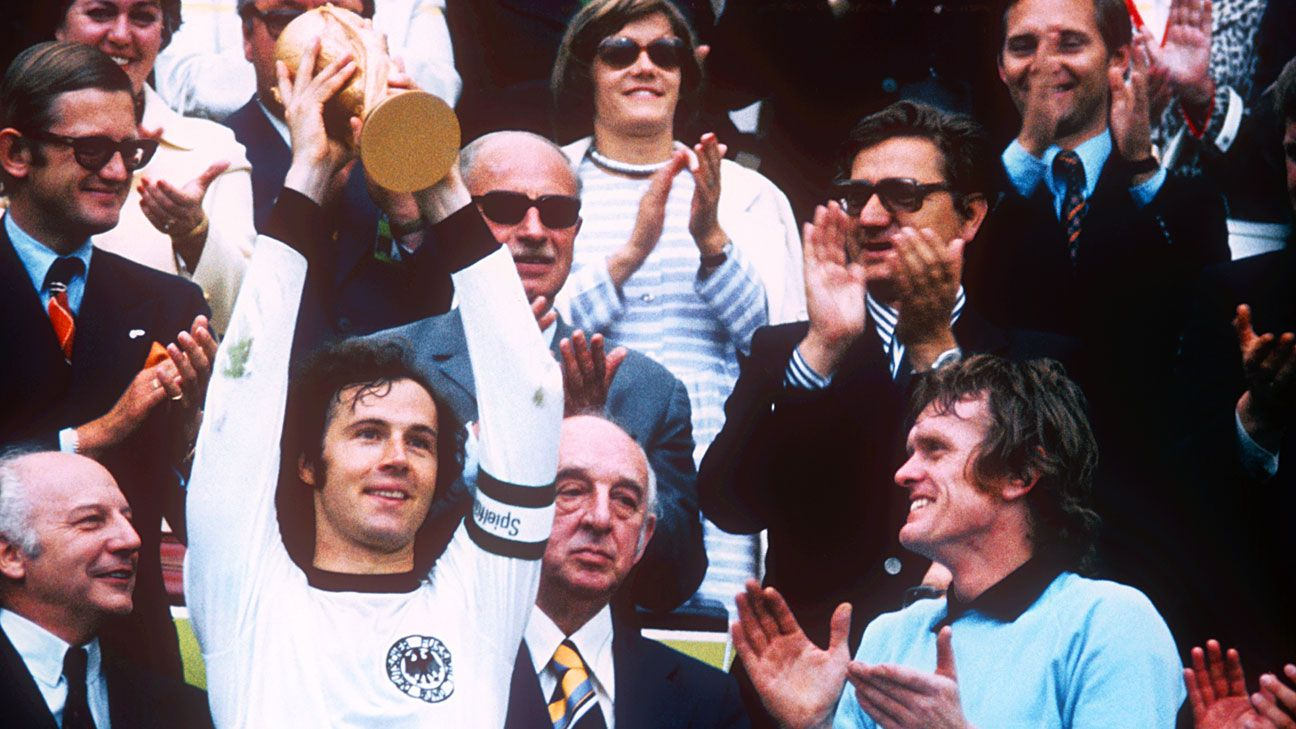 Image result for beckenbauer world cup
