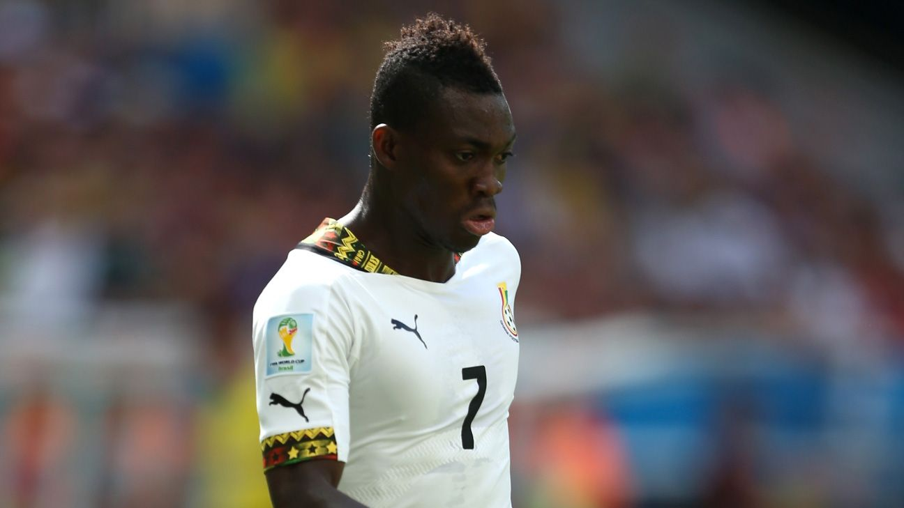 Atsu has excelled for Ghana at the Africa Cup of Nations