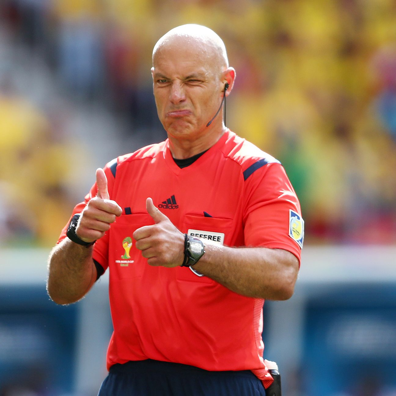 Webb has been mocked his entire career but still refereed with authority, good sense and class.