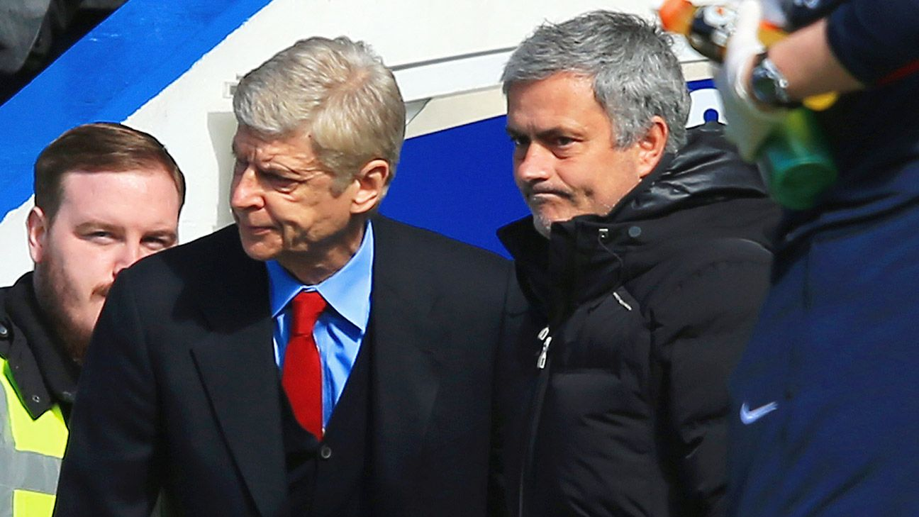 Not-so-friendly rivals Arsene Wenger and Jose Mourinho renew acquaintances in early October at Stamford Bridge.
