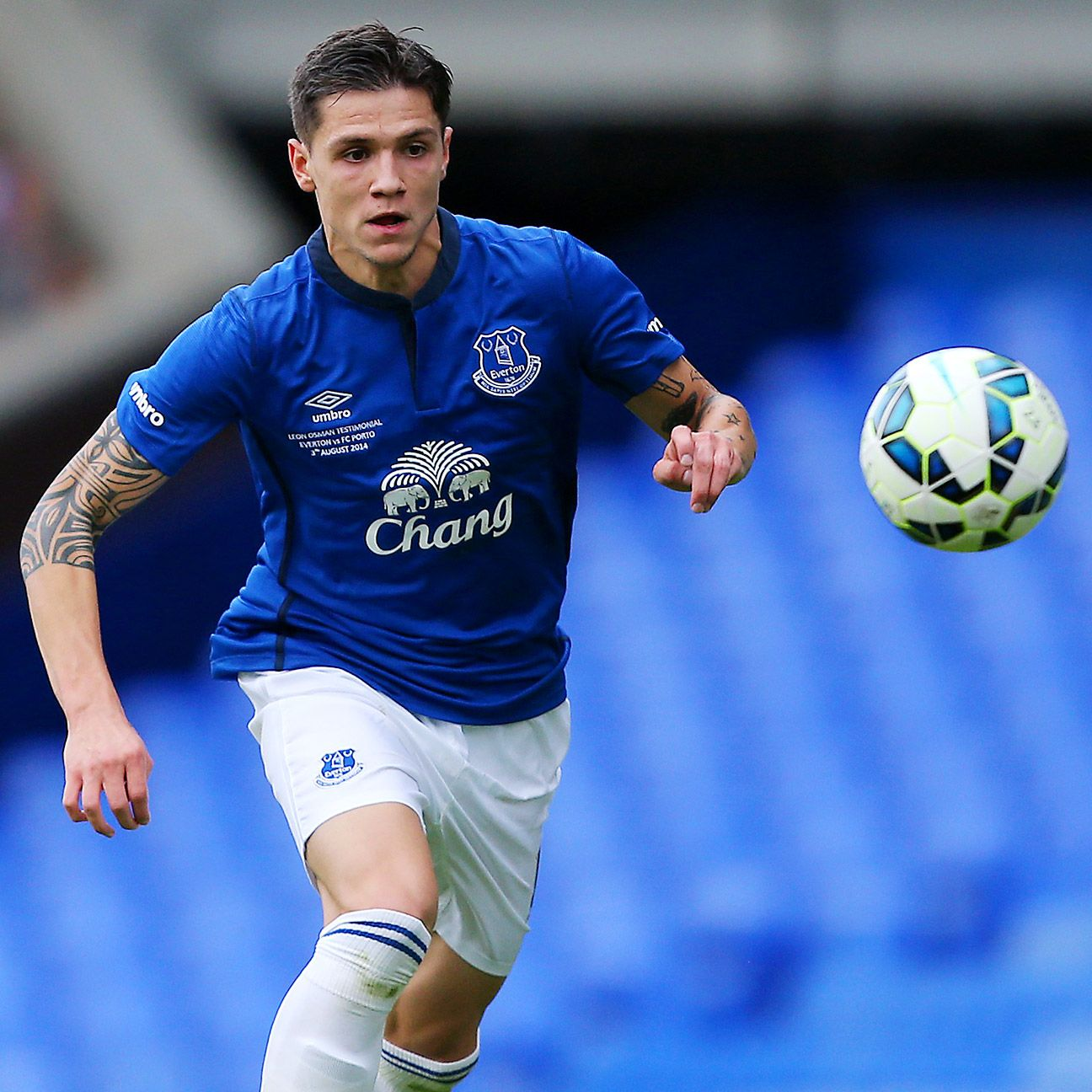 New arrival Muhamed Besic has impressed during Everton's preseason.