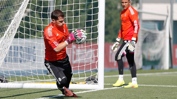 Despite Lopez' exit, Casillas and Navas mean Real's No. 1 spot is more contentious than ever.