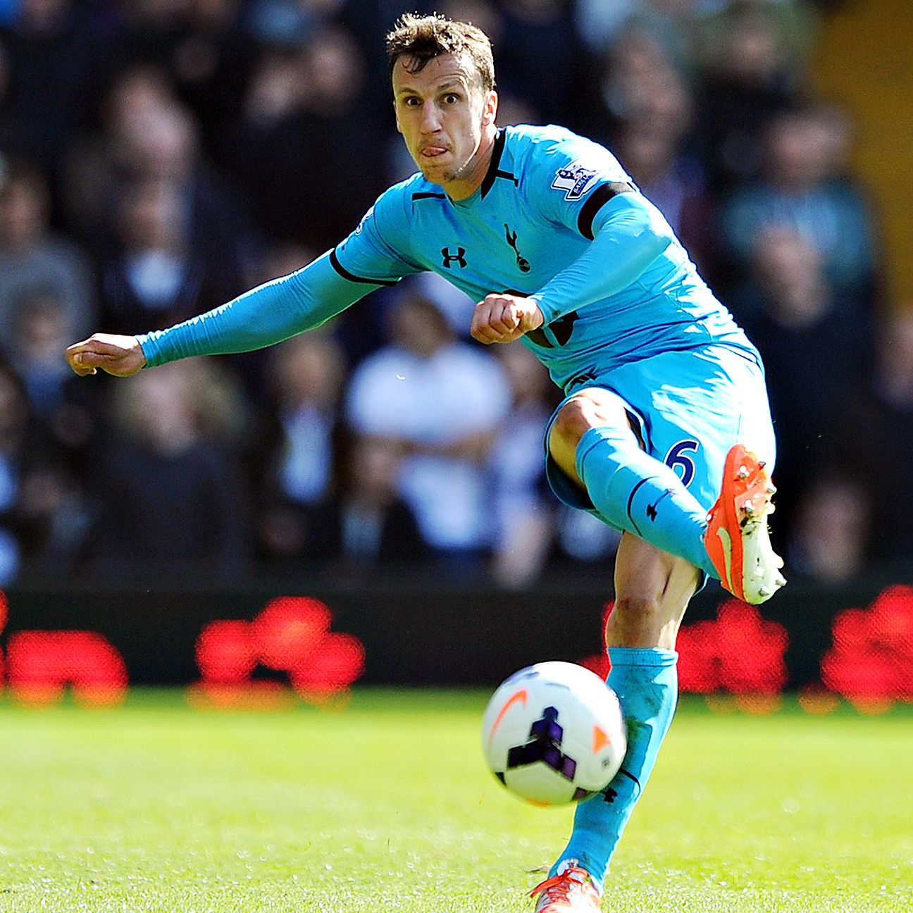 Vlad Chiriches could be departing White Hart Lane after just one season.