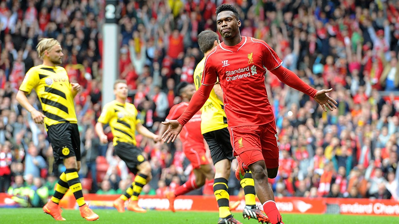 Daniel Sturridge scored 20 goals last season for Liverpool.