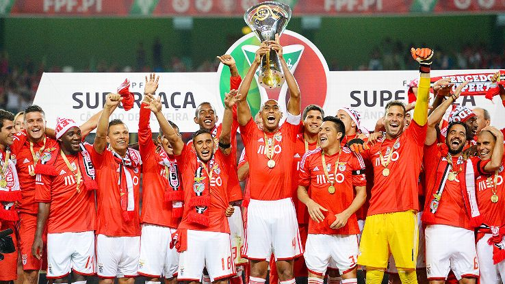 Benfica profited from third-party ownership in 2013-14, winning three trophies and making money.