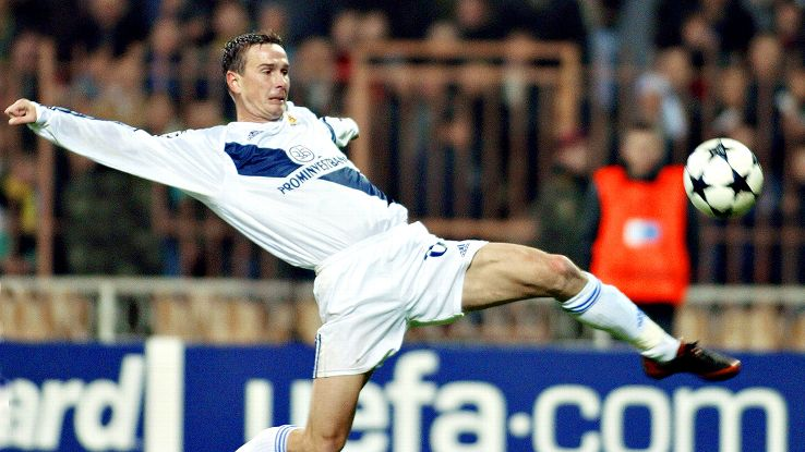 Valentin Byalkevich led Dynamo Kiev to a Champions League semifinal appearance in 1999.