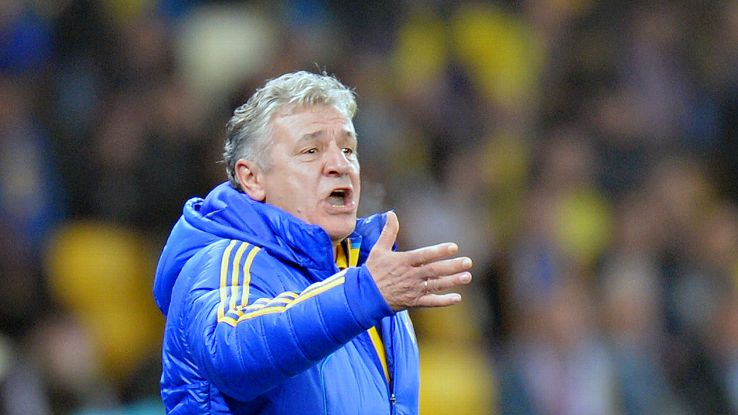 Andriy Bal served as caretaker manager for Ukraine back in 2012.