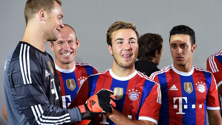 Gotze has struggled to become a regular starter at Bayern so far. He can afford to struggle no more.