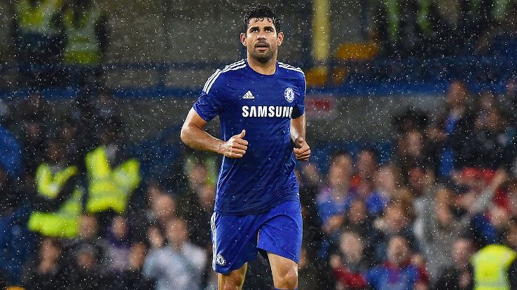 Diego Costa made the transfer to Chelsea earlier this summer.