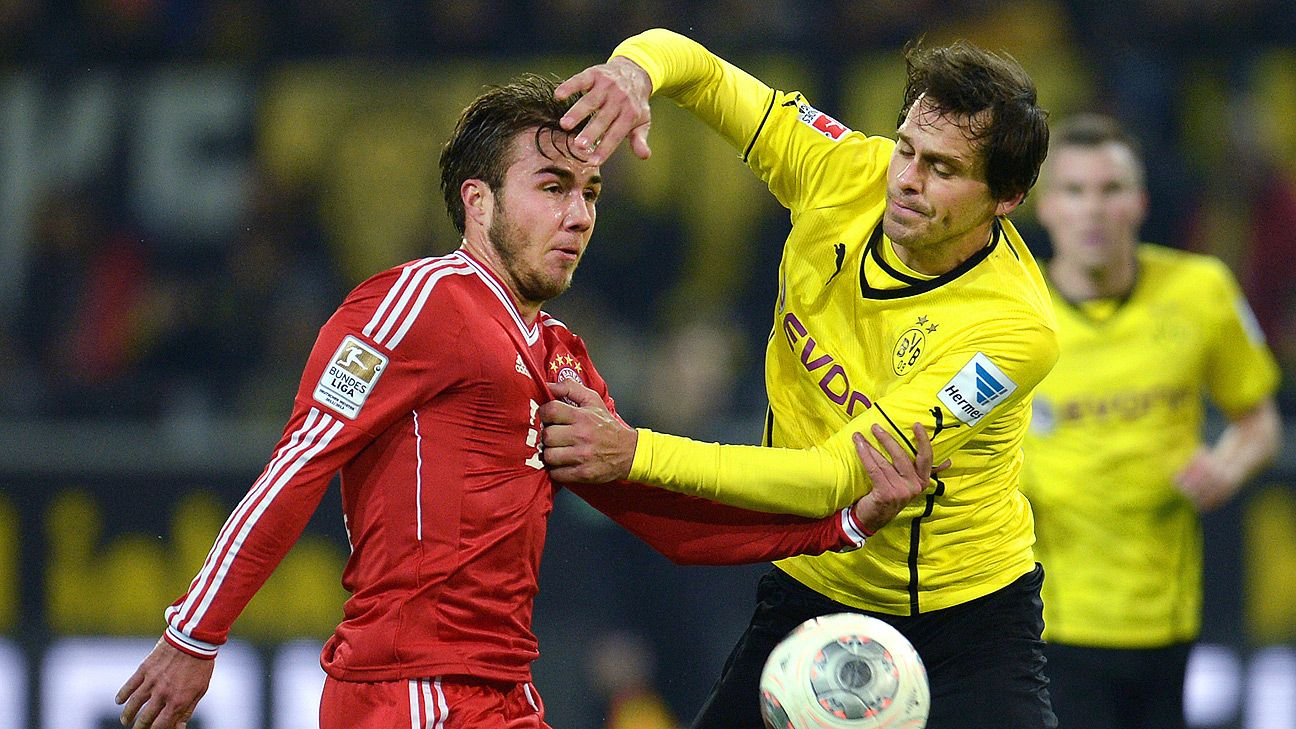 Gotze was good vs. former club Dortmund last season but that's not enough.