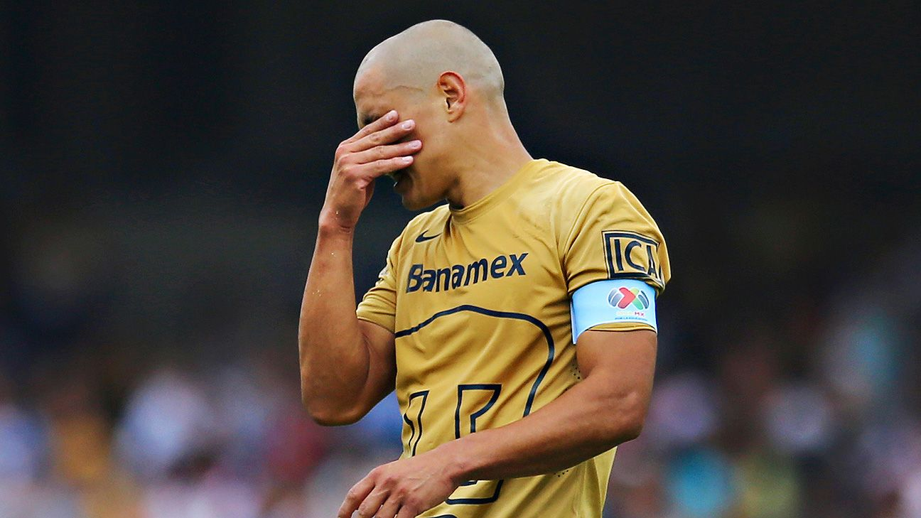 The Apertura went from bad to worse for Dario Veron and Pumas in their weekend defeat to Atlas.