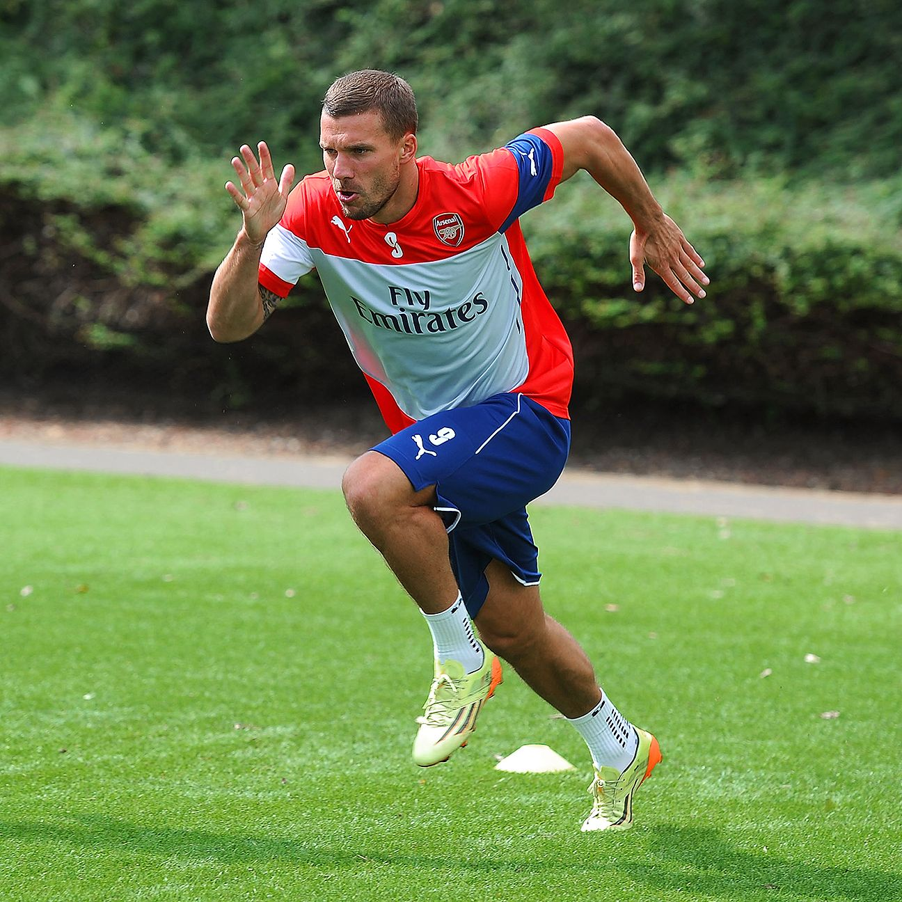 With the arrival of Alexis Sanchez and the emergence of Joel Campbell, it may be difficult for Lukas Podolski to keep his spot at Arsenal.