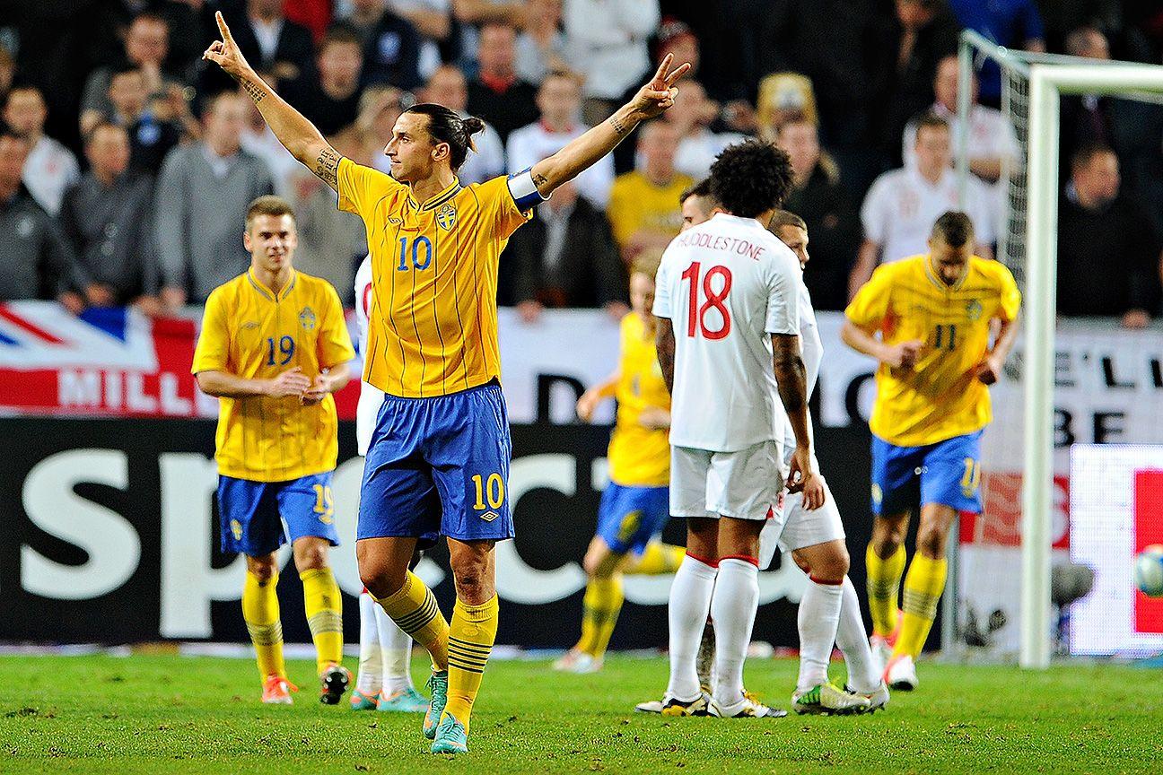 England vs. Sweden top five matches: Zlatan Ibrahimovic's overhead kick and more