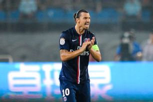 After a positive summer, Ibrahimovic is clearly ready for the new season.