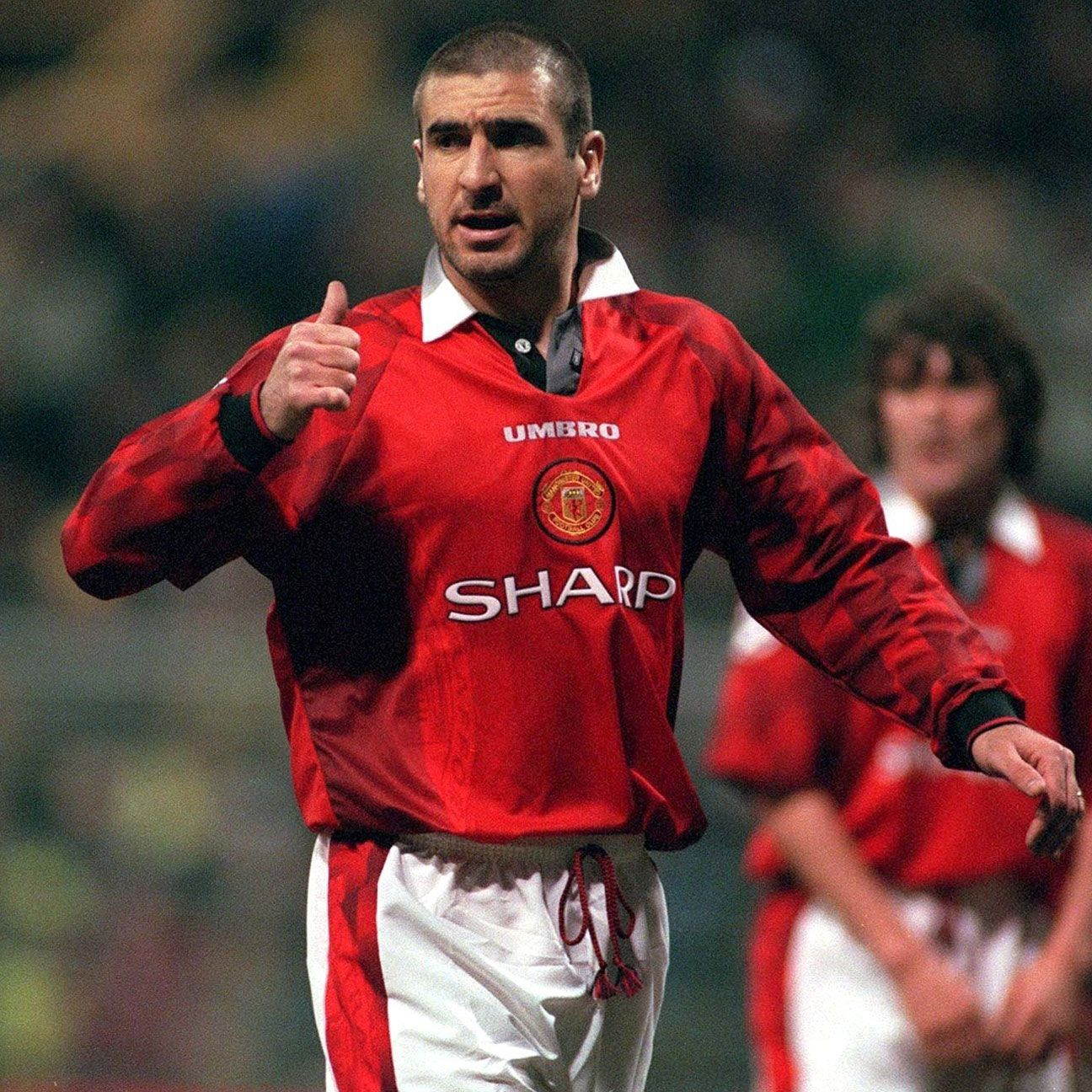 Eric Cantona could always be relied upon to nick a goal in a tight game for Manchester United.
