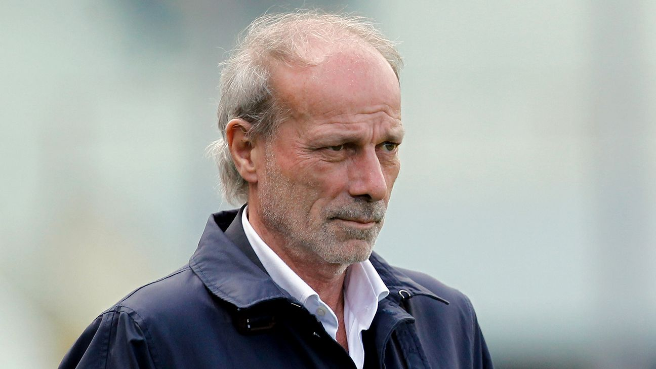 Walter Sabatini is highly regarded in Italy.