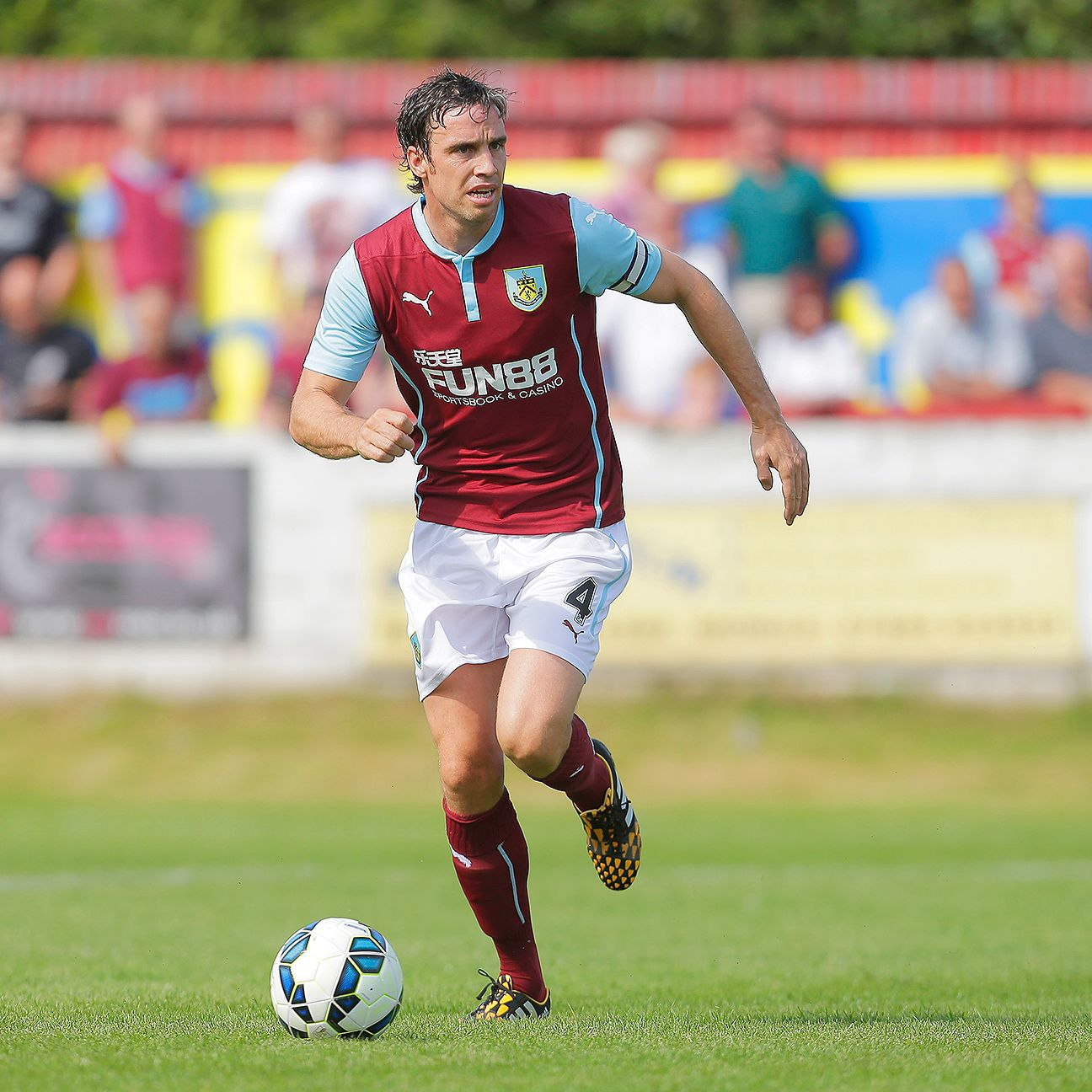 Veteran defender Michael Duff will be tasked with stopping Chelsea's Diego Costa on Monday.