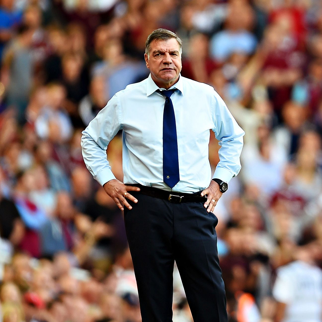Sam Allardyce's West Ham would pull off a clean sweep of the reigning Premier League champions should they win Saturday at Manchester City.