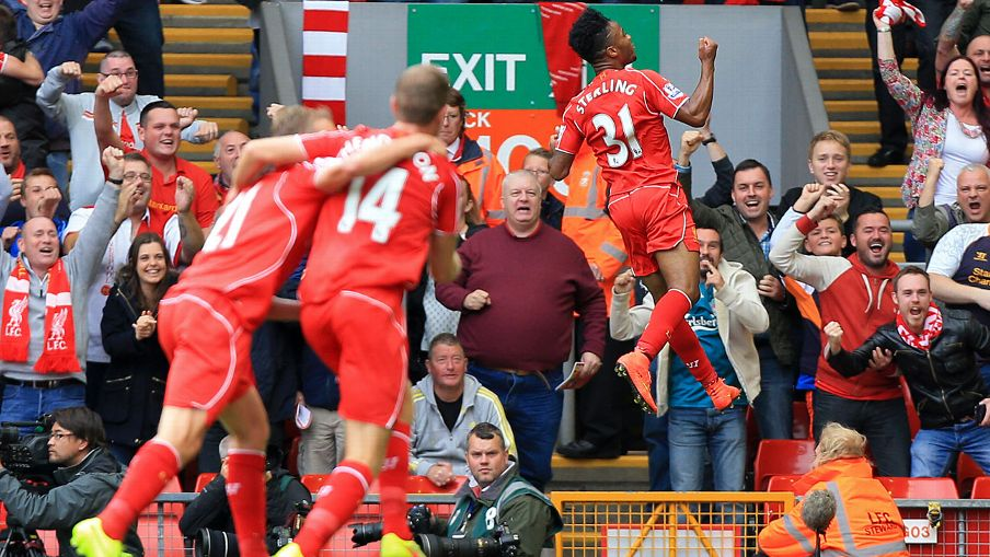 Raheem Sterling and Liverpool enjoyed a bright, but nervous, start to their Prem campaign.