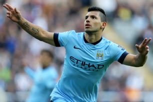 Sergio Aguero has hit the ground running in Manchester City's 2014-15 Premier League campaign.