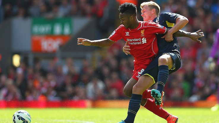 Raheem Sterling was Liverpool's best performer as the Reds were lucky to escape with a win.