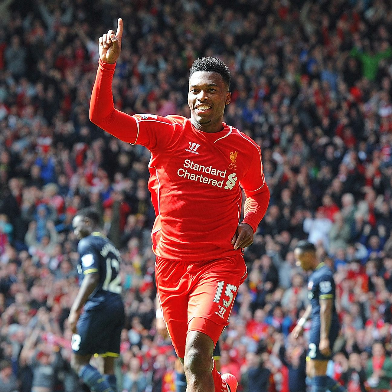 A Daniel Sturridge goal-scoring celebration has been a rare sight this season on Merseyside.