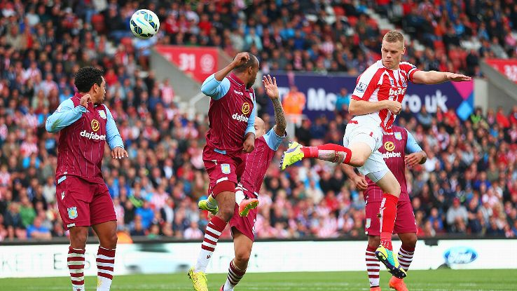 Villa's rebuilt back four did brilliantly to stifle and deny Stoke, a promising sign.