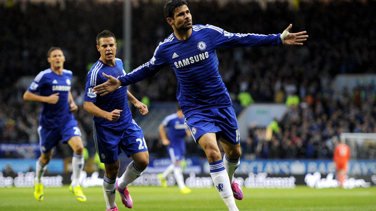 Diego Costa showed that he's the striker Chelsea have sorely been lacking.