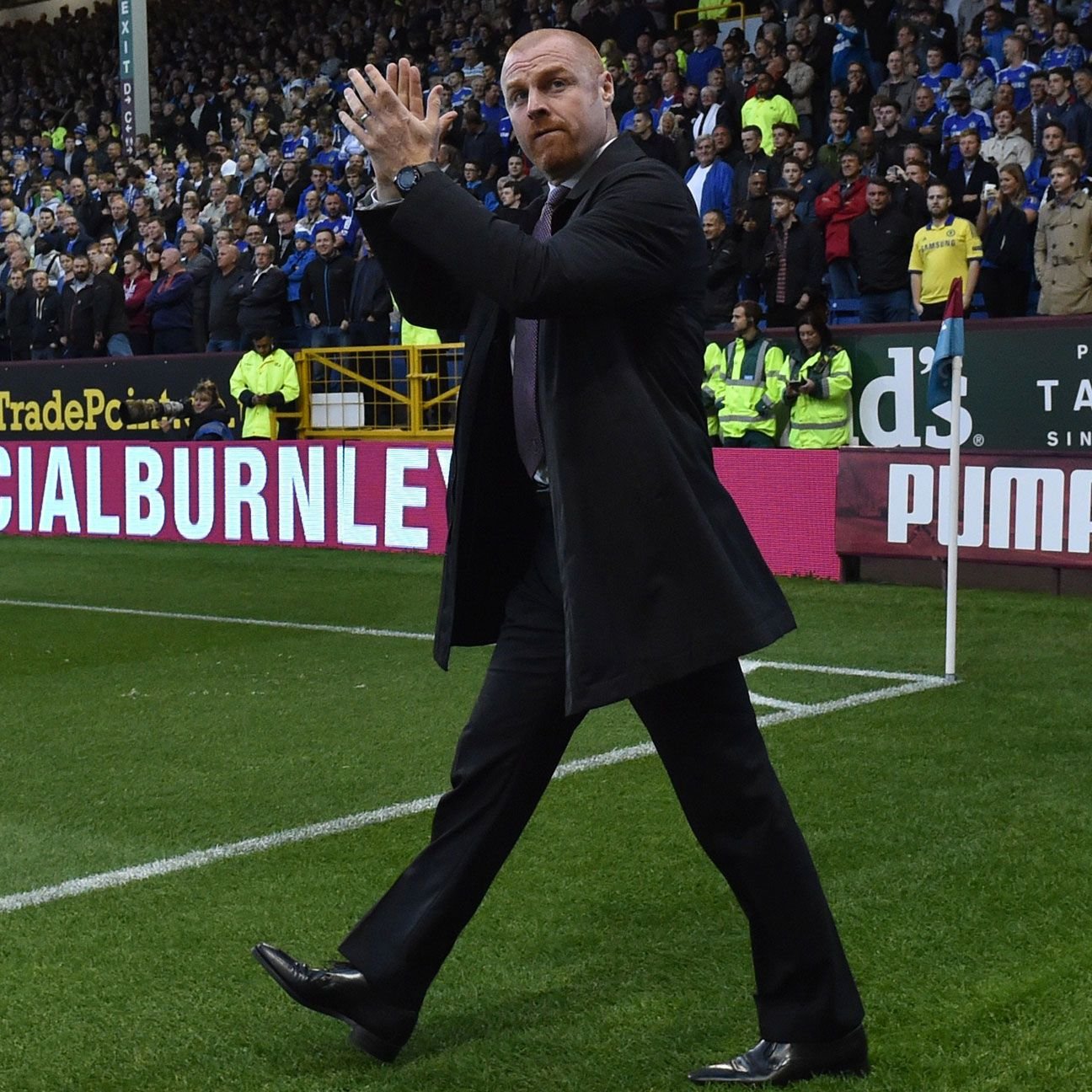 The spotlight will be on Sean Dyche's Burnley to see if they can extend their unbeaten run.