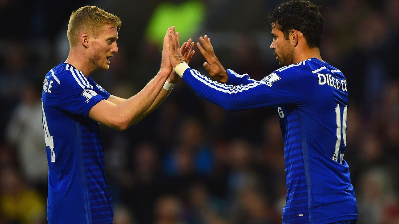 Diego Costa linked up superbly with his new teammates, a promising sign for Chelsea.