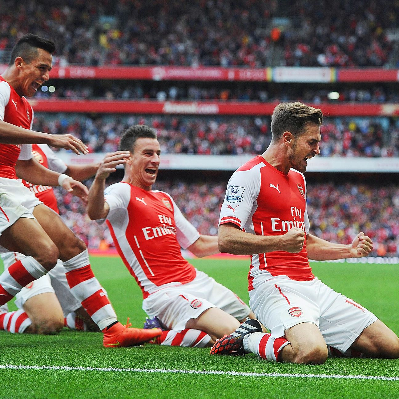 In what's becoming a regular occurrence, Aaron Ramsey rescued Arsenal.
