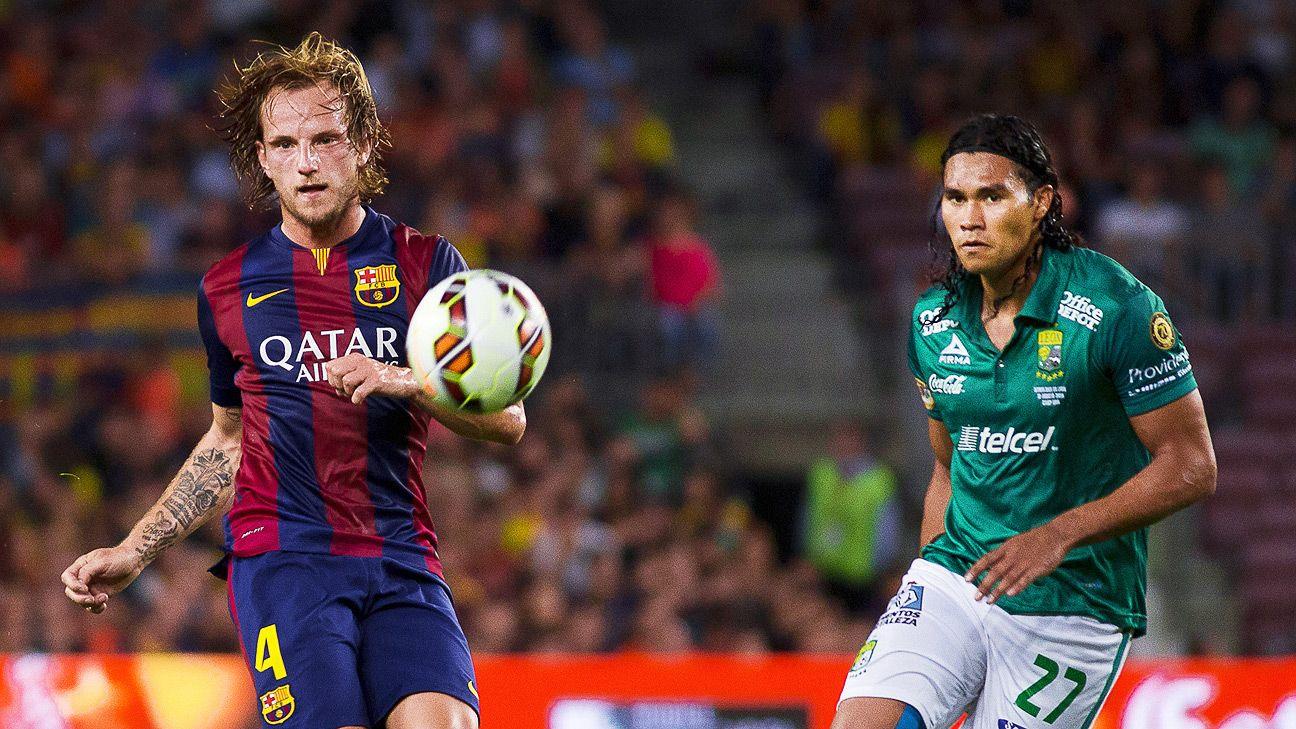 Encouragingly, Ivan Rakitic has slotted seamlessly into Barcelona's midfield.