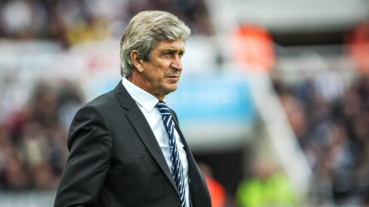 Manuel Pellegrini's Manchester City started their title defence with a win at Newcastle.