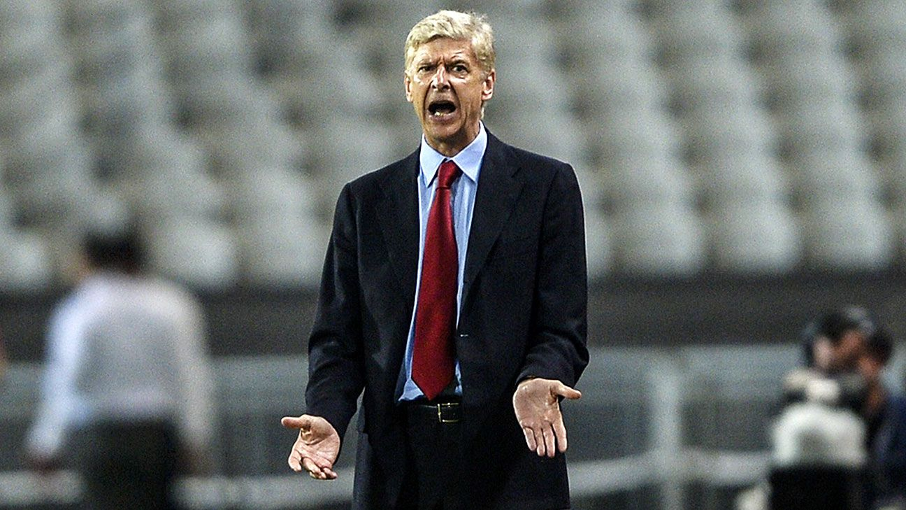 Arsene Wenger looks to have much more free time in the international break.