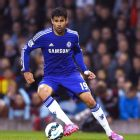 There was no sign of nerves from Diego Costa in his Premier League debut versus Burnley.