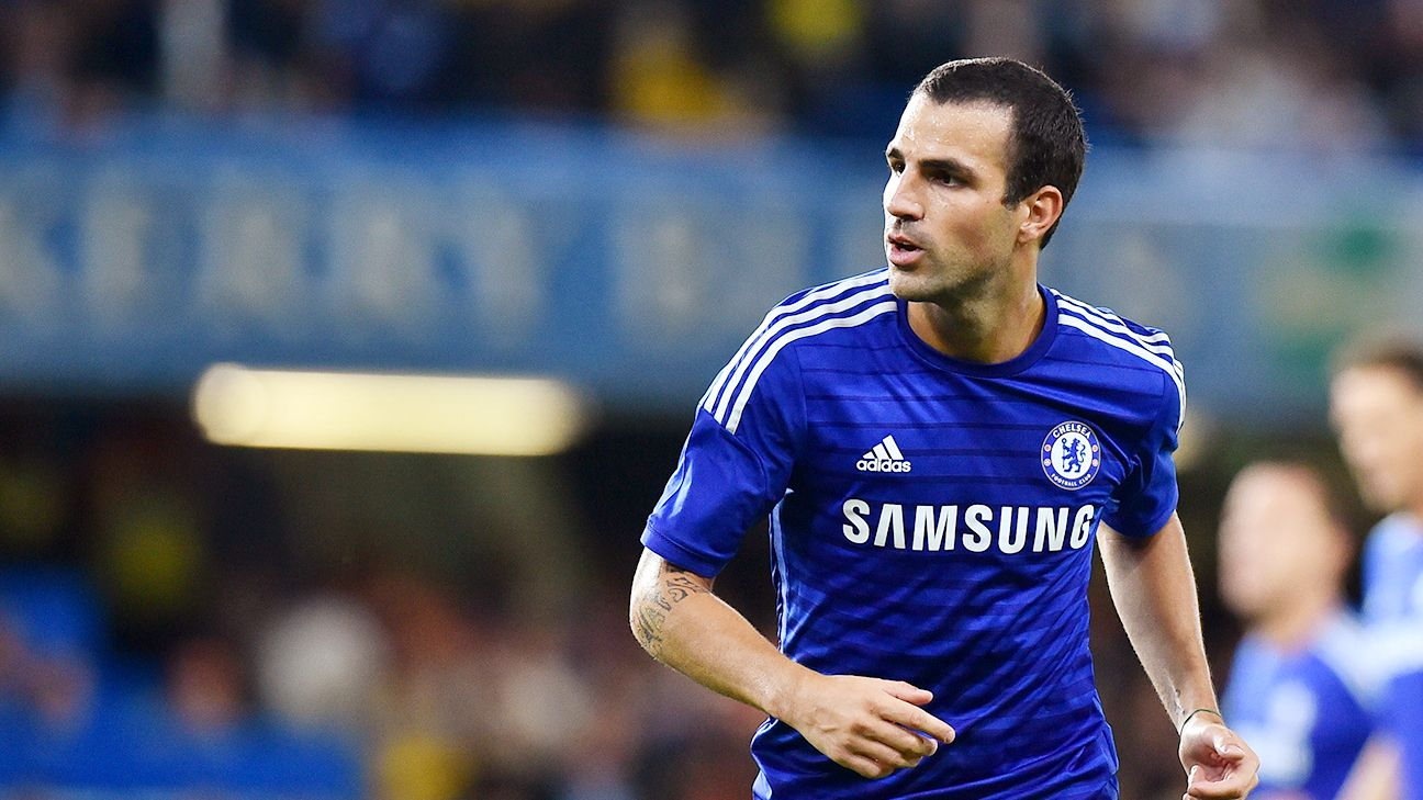 After three wayward seasons at the Camp Nou, Cesc Fabregas appears to have found a home at Stamford Bridge.