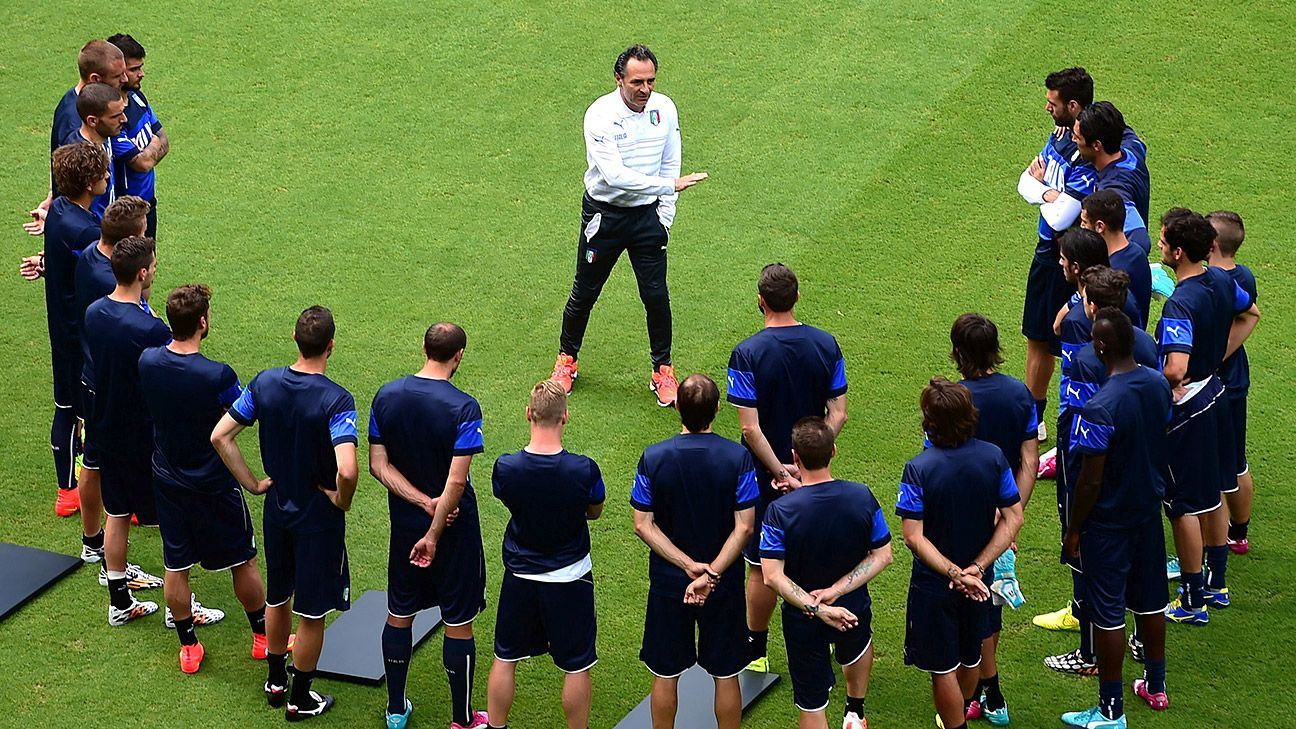 It remains to be seen whether Conte can bring pride and unity to the Azzurri as Cesare Prandelli famously could.
