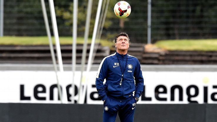 Inter boss Walter Mazzarri has seen his side put in mixed results during their preseason.