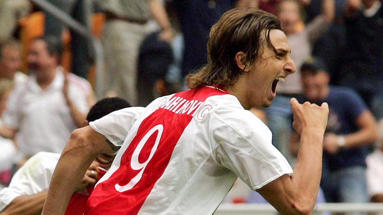 Zlatan Ibrahimovic's golazo versus NAC Breda was also his last goal scored in an Ajax jersey.