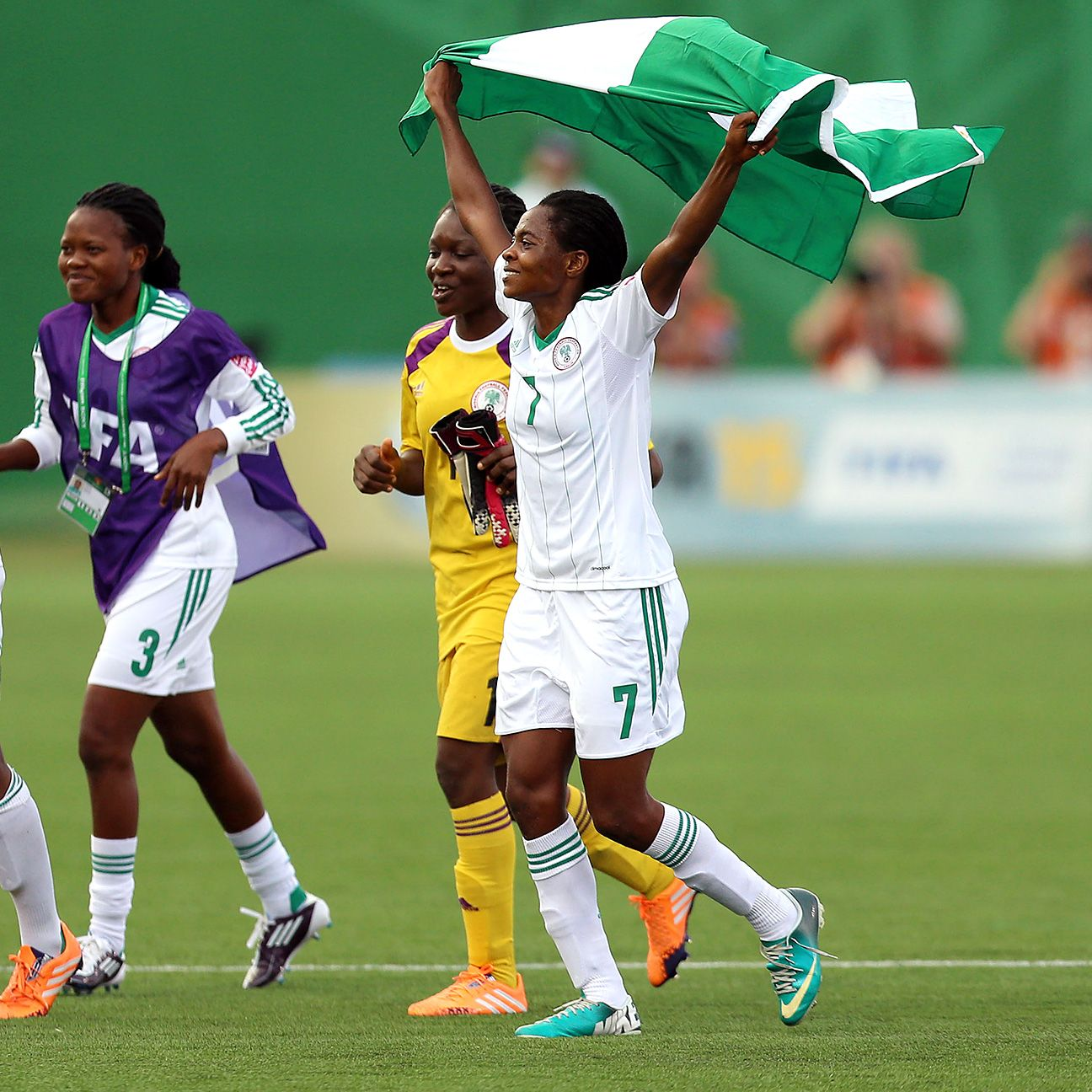Nigeria are one step away from winning the Under-20 Women's World Cup.