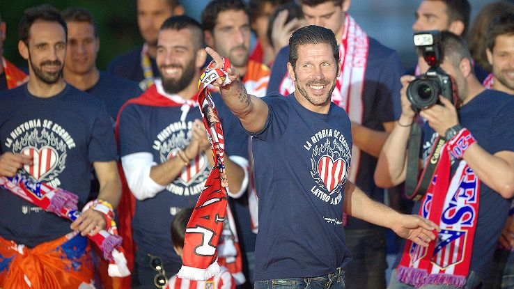 No one thought Atletico could win La Liga last season. They don't believe it this year, either.