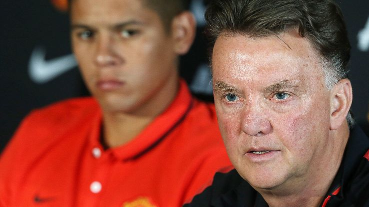 A lack of transfer activity from manager Louis van Gaal is starting to create angst among the Manchester United faithful.