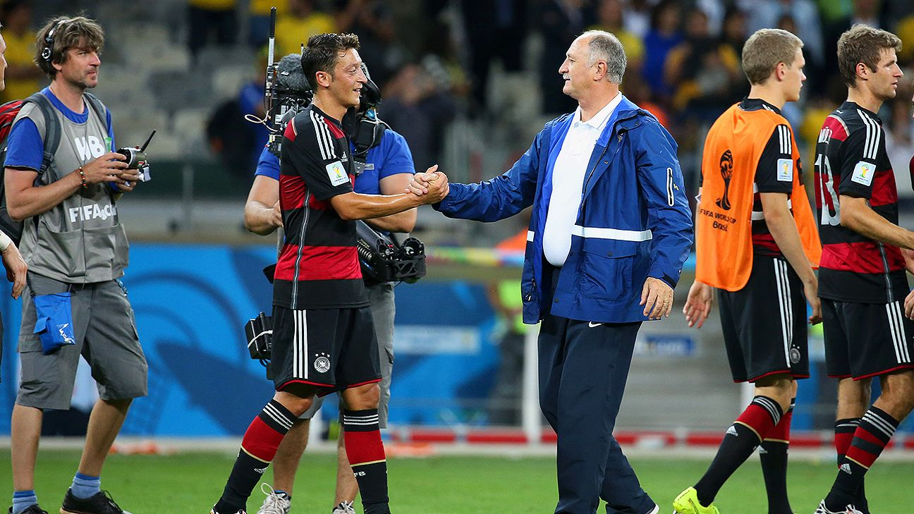 Scolari was humiliated at the Mineirao six weeks earlier, a defeat he'll struggle to forget.
