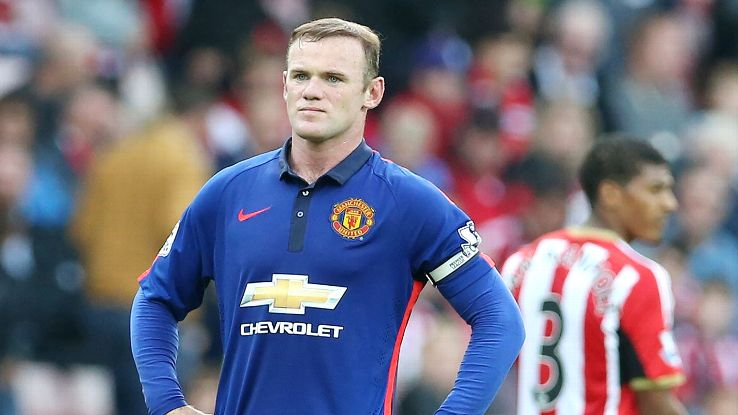There was little service in the direction of Wayne Rooney during Manchester United's 1-1 draw at Sunderland.
